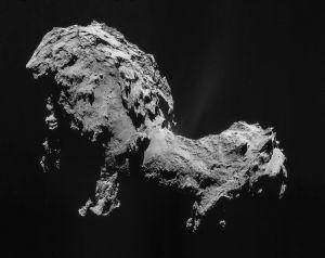 67P/Churyumov–Gerasimenko. Kuva: ESA/Rosetta/NAVCAM